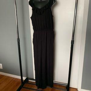 like new Ann Taylor black tank top jumpsuit (6/$14